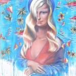 Beach Barbie Mona
